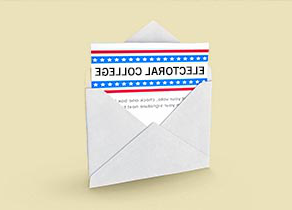 Envelope with Electoral College Ballot