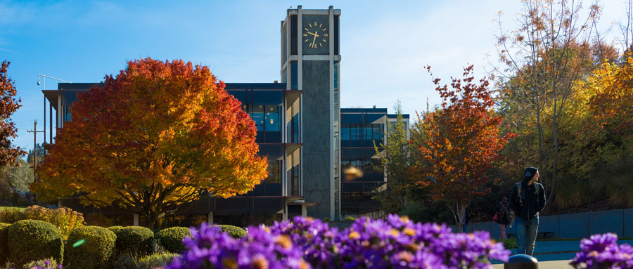 demaray hall in fall